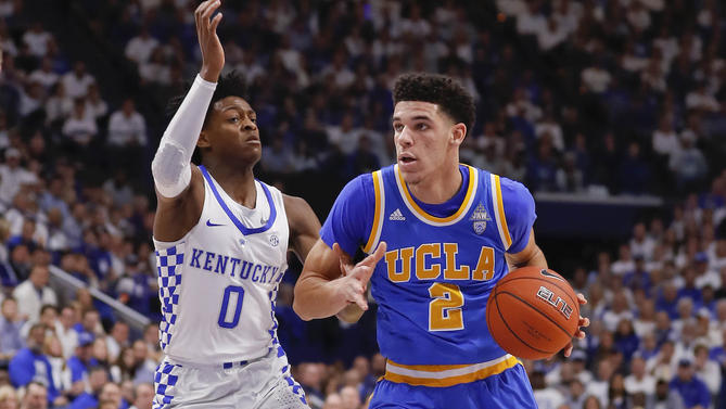 Lonzo Ball + De'Aaron Fox