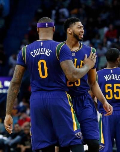 Cousins Davis Pelicans